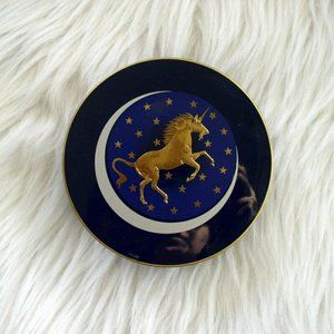 Vintage Otagiri Japan Unicorn Coaster Set